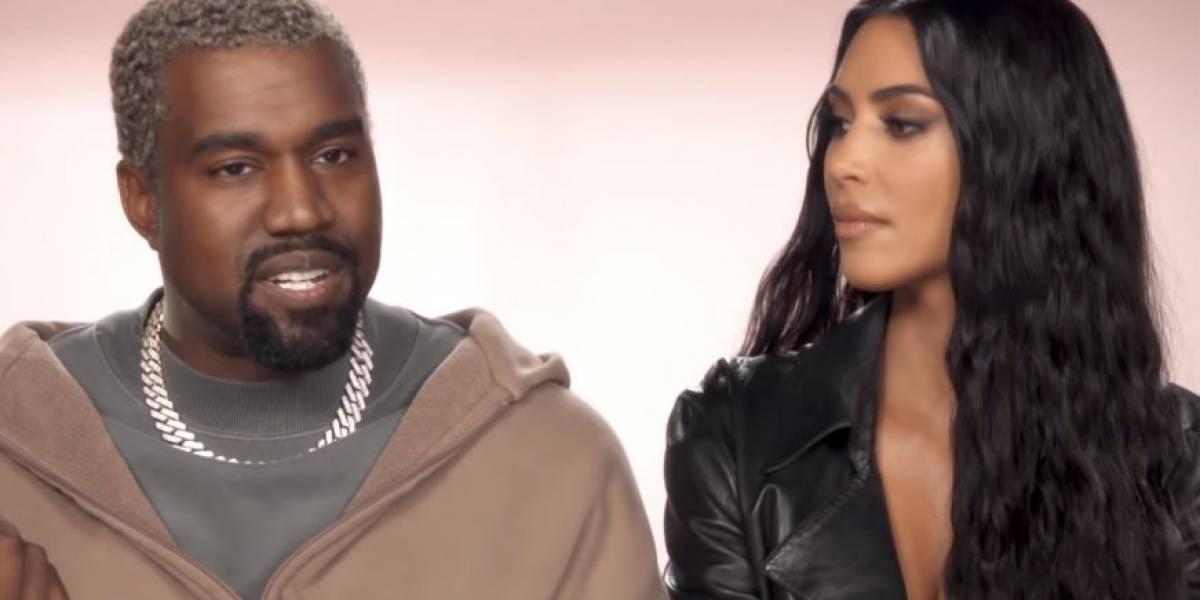 Kim Kardashian reveló estar harta de cuidar a Kanye West como si fuera un niño