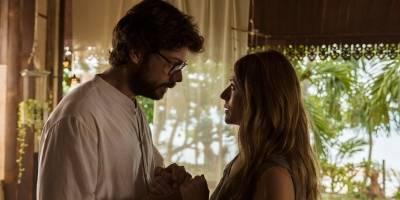 O Professor e Raquel Murillo