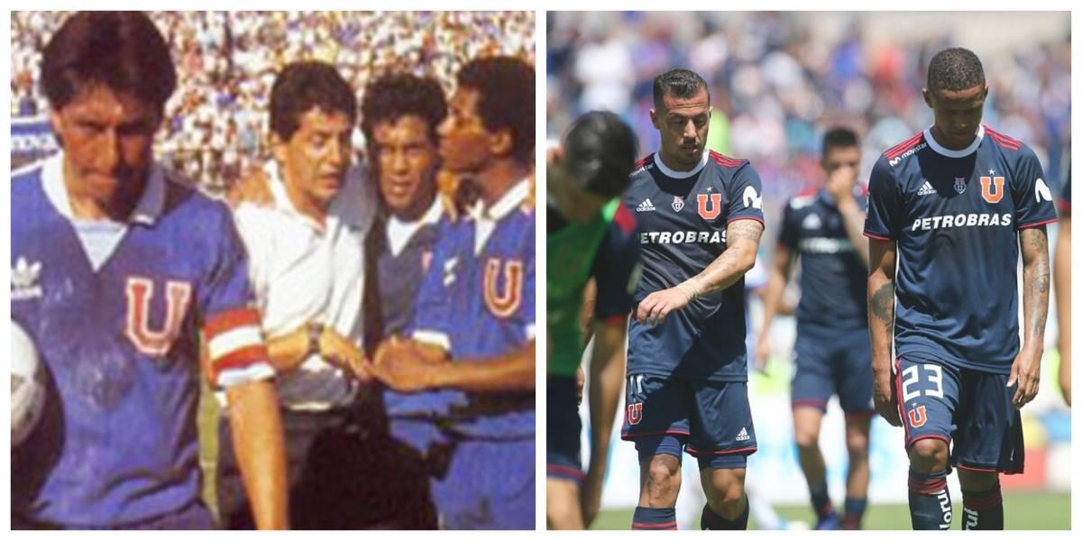 La U 1988 vs. La U 2019: ¿Cómo fueron las seis primeras fechas de los azules cuando descendieron?