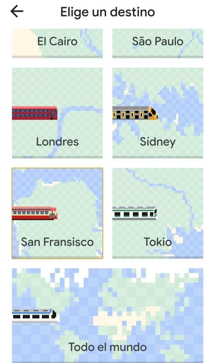 Google Maps añade de forma oculta el juego Snake por el April