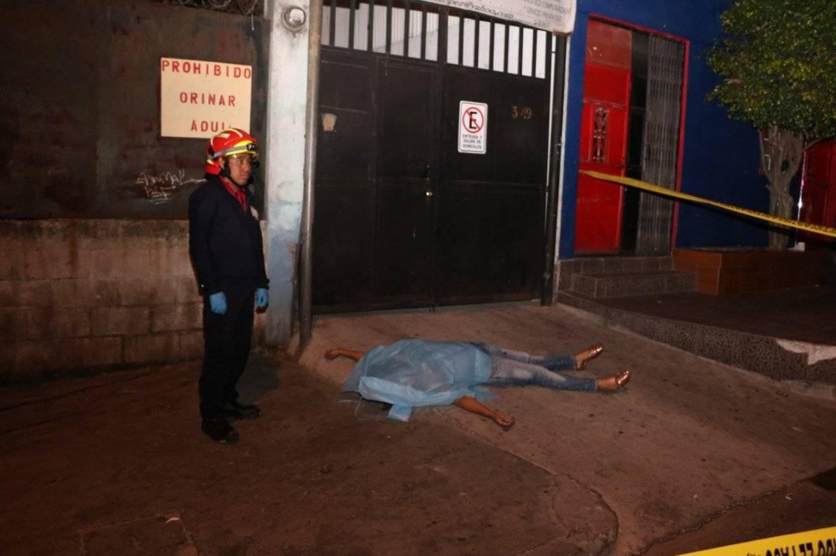 mujer fallecida por ataque armado en zona 4