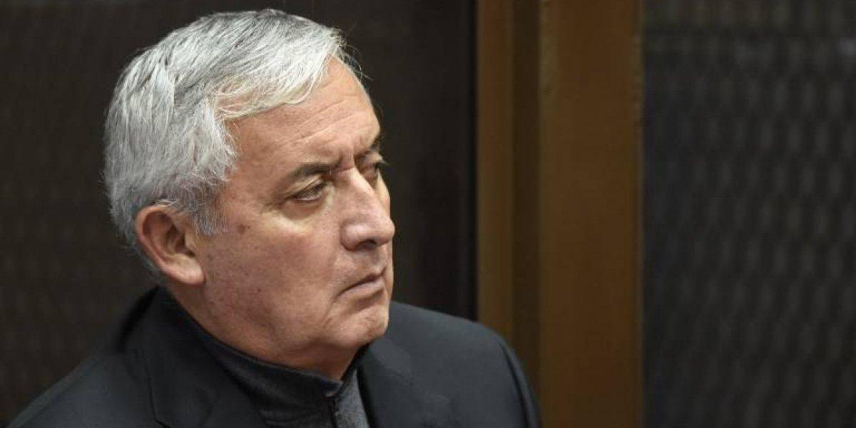 Juez ordena que Otto Pérez Molina regresa a la cárcel de Mariscal Zavala