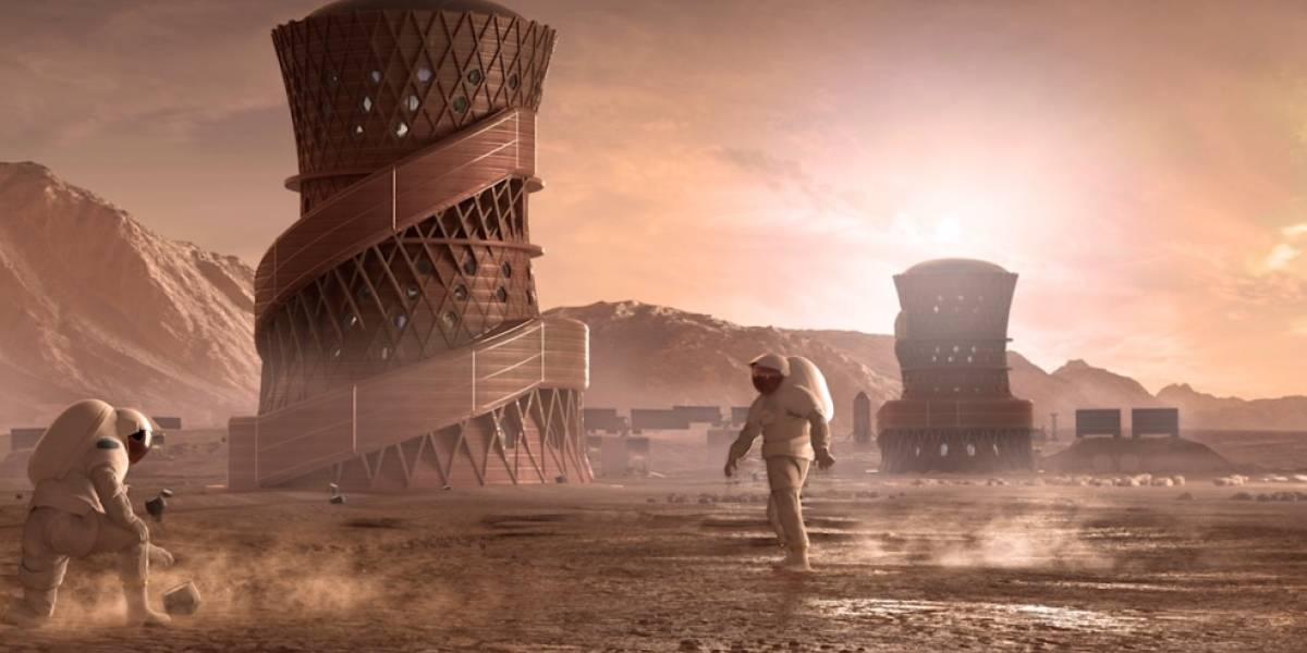 Humanos em Marte? NASA divulga projeção de habitat no planeta vermelho
