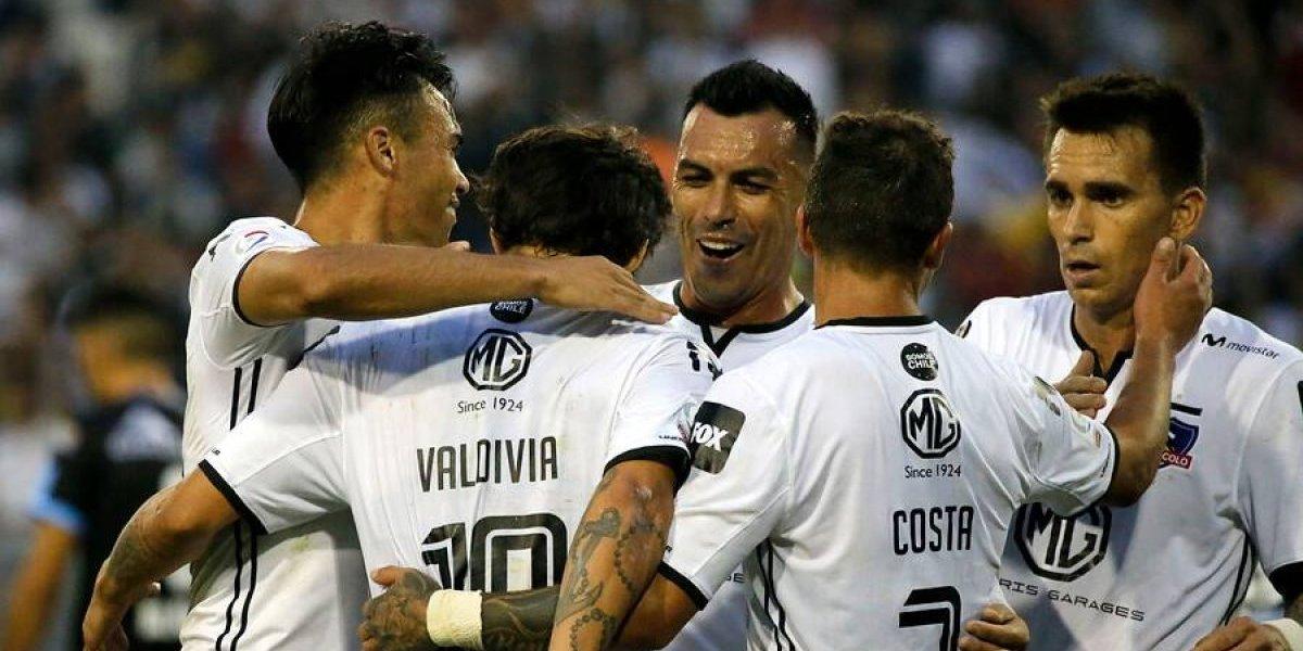 Valdivia y Paredes desde el arranque: La formación de Colo Colo para su estreno en la Copa Sudamericana
