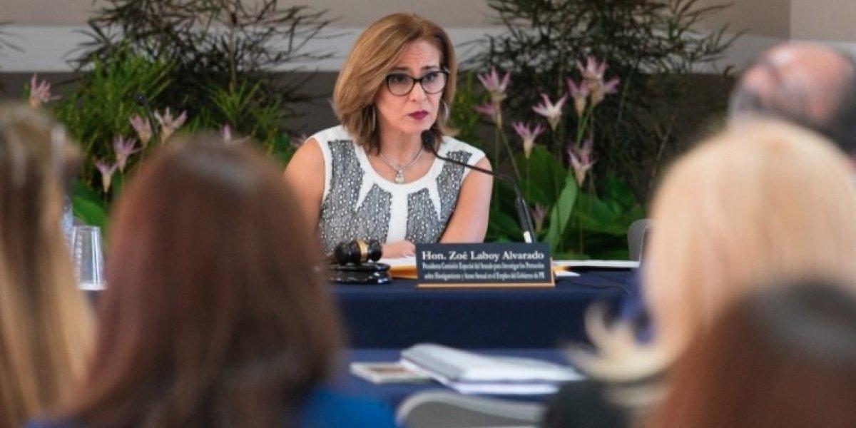 """Zoé Laboy """"impedida"""" de respaldar al Gobernador"""