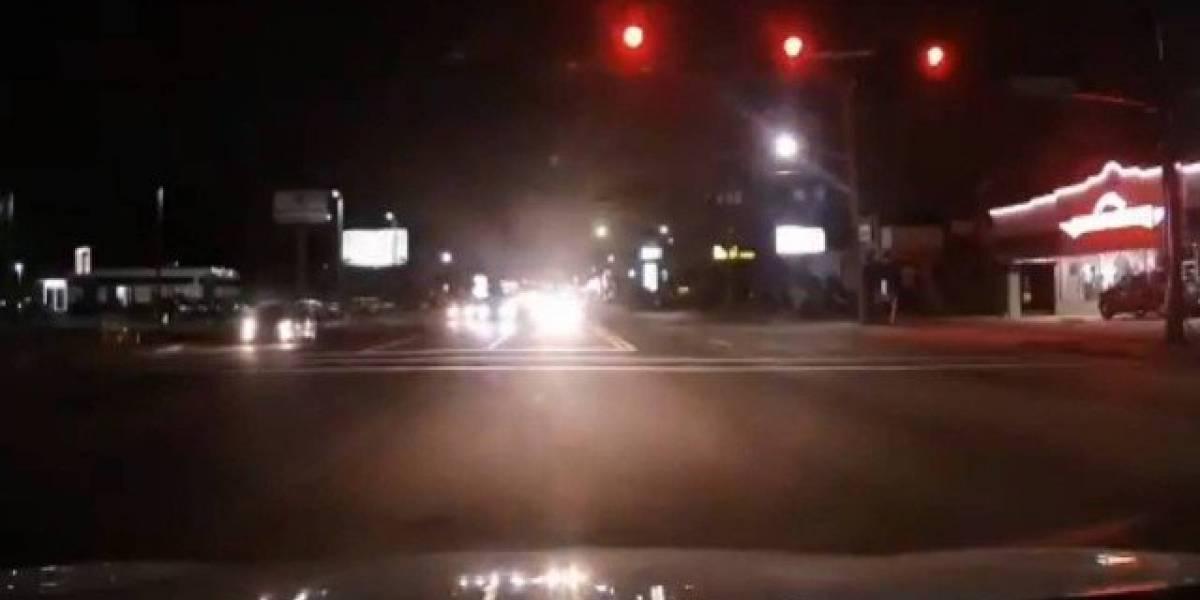 Objeto brilhante no céu! Motorista flagra impressionante queda de meteoro na Flórida