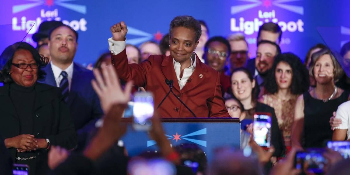 Chicago elige por primera vez una alcaldesa afroamericana y abiertamente homosexual