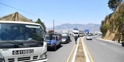 Bloqueo carreteras