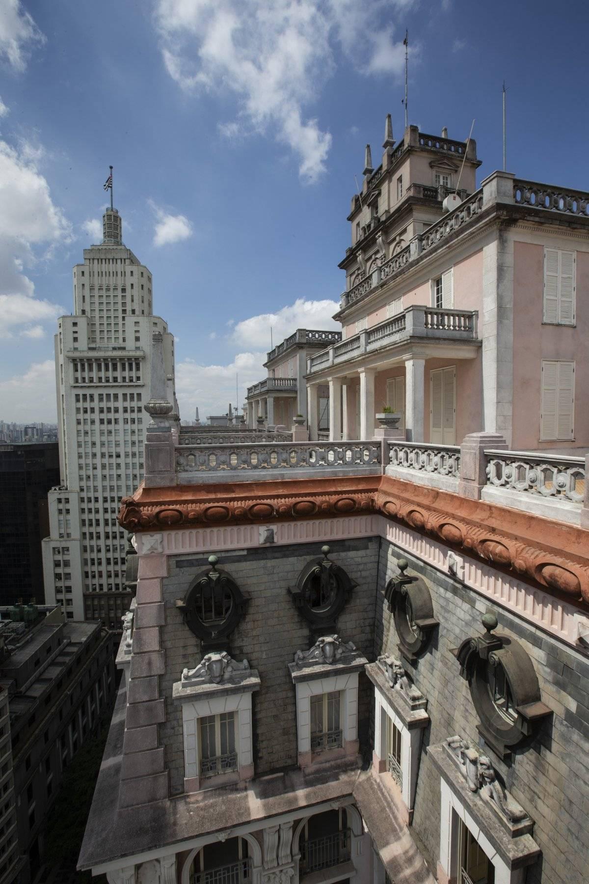 O terraço, de onde é possível ver o vizinho Farol Santander | André Porto/Metro