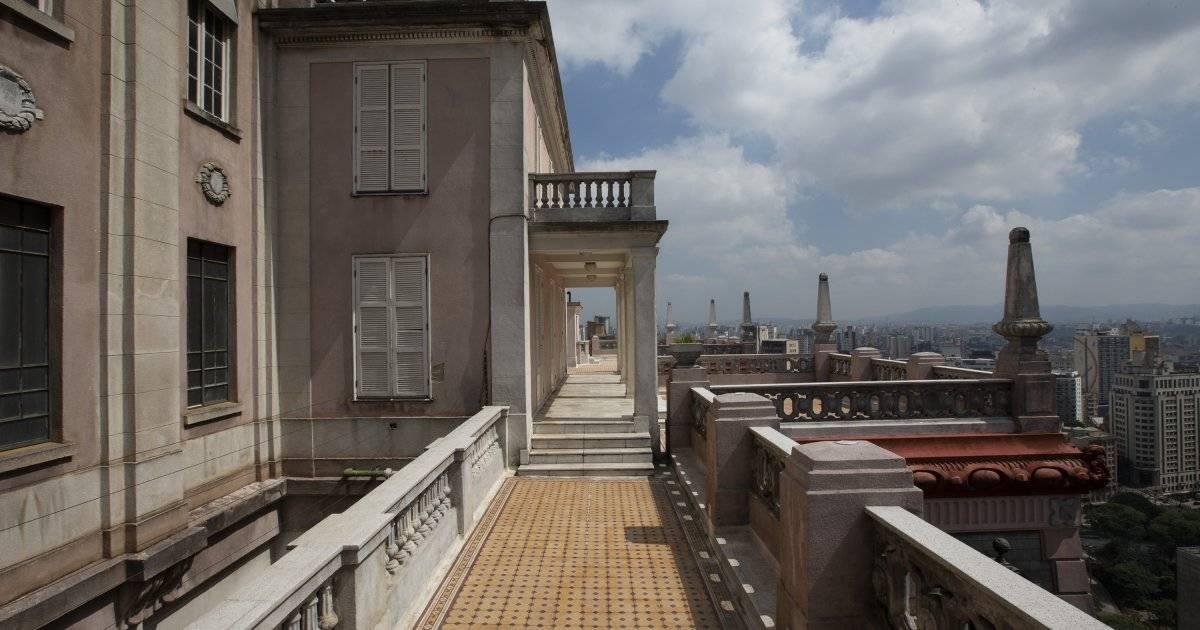 O terraço do Martinelli, com mirante privilegiado | André Porto/Metro