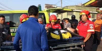 accidente de tránsito en La Reformita, zona 12
