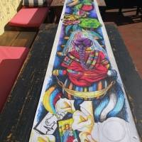 "Alfombra ""Tejiendo esperanza"" en La Antigua Guatemala"