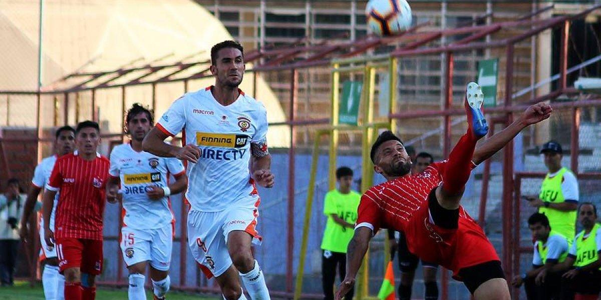 """Lucas Simón y el irregular arranque de Cobreloa: """"Preferimos empatar jugando así, que ganar siendo un desastre"""""""