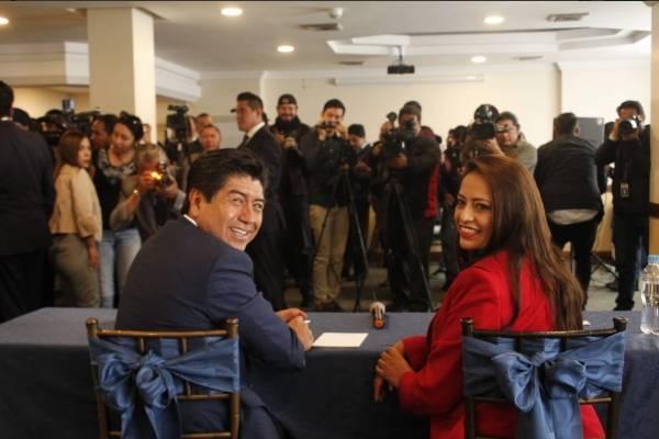 Jorge Yunda y Paola Pabón se comprometen a trabajar en conjunto por Quito y Pichincha