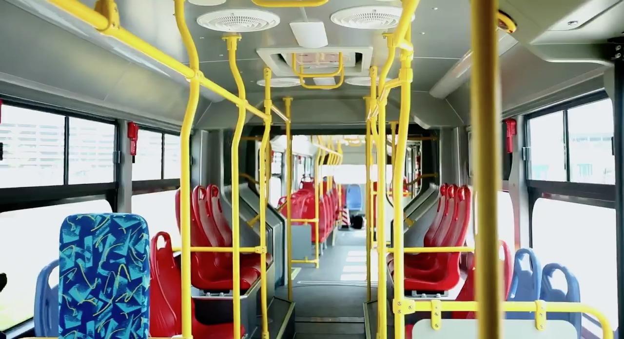 Transmilenio contará próximamente con el bus eléctrico más largo del mundo
