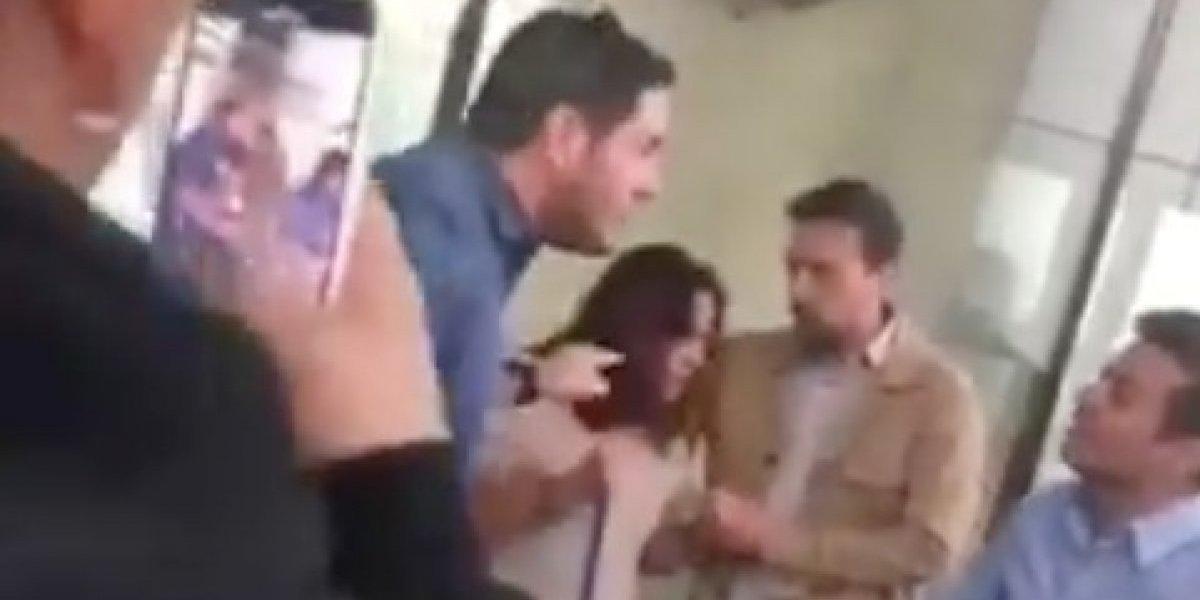 ¿Será real? Pancho Saavedra se fue a los golpes en defensa de una mujer