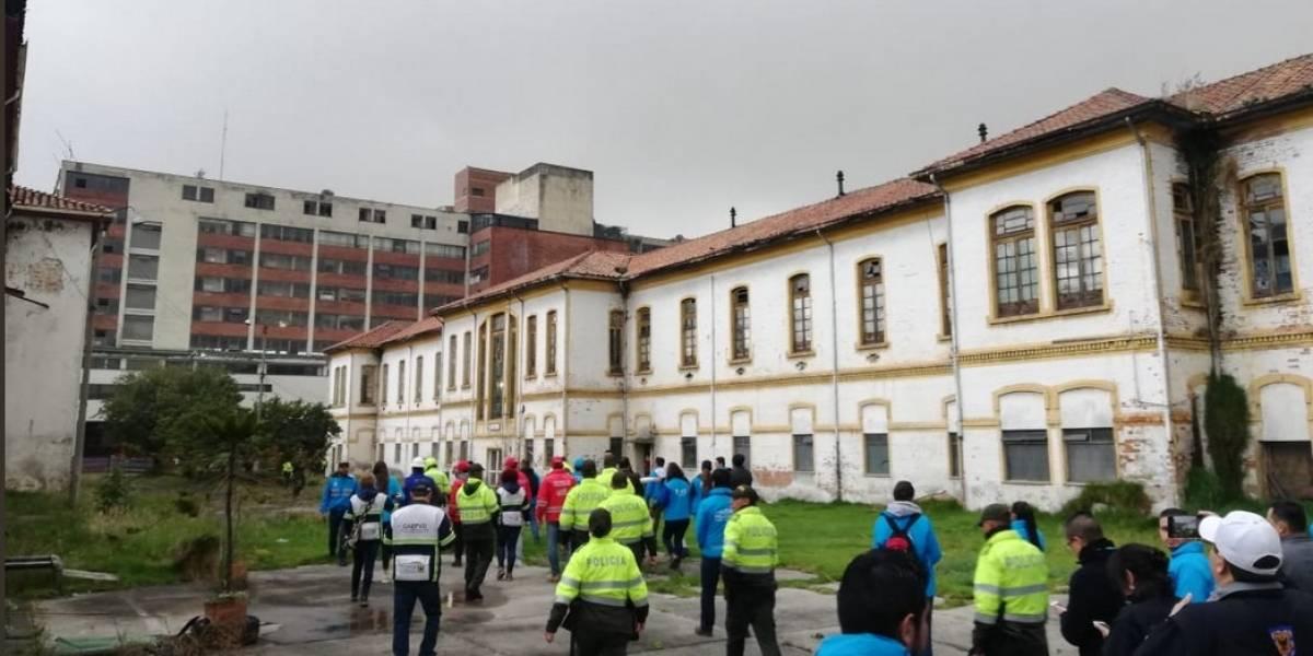 Con Esmad, desalojan las últimas familias del San Juan de Dios en Bogotá