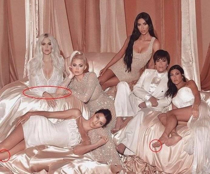 Clan Kardashian Photoshop