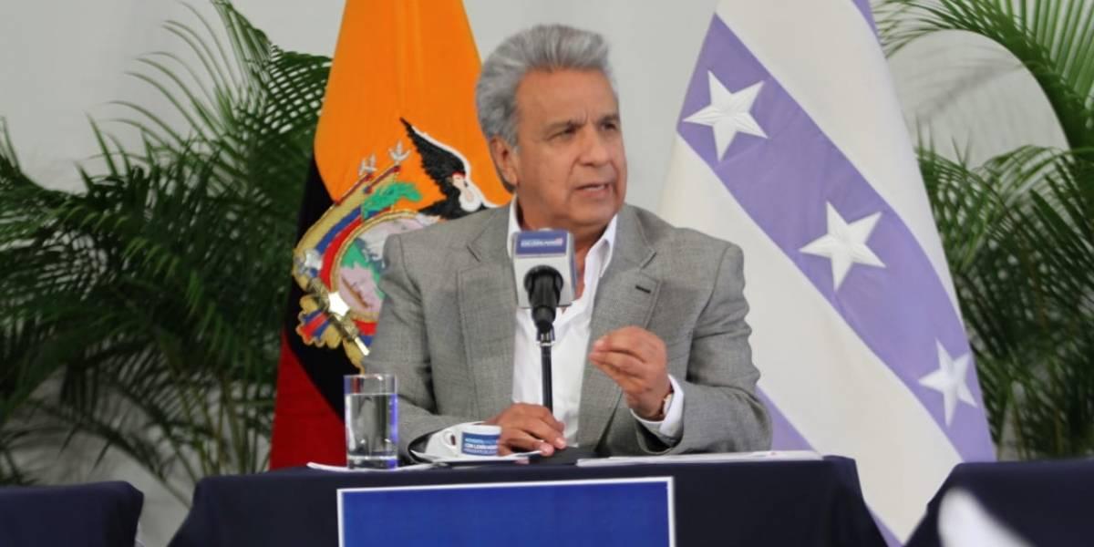 """Lenín Moreno """"Soy un cadáver no solamente político sino físico para Rafael Correa"""""""