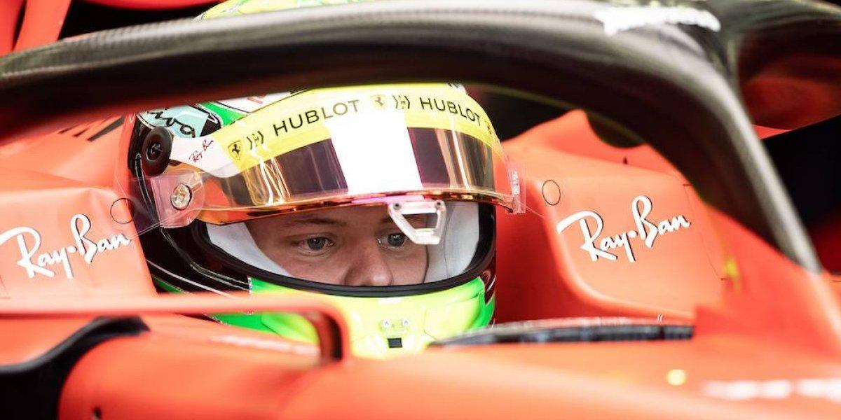 Hijo de Schumacher realiza su primera prueba de F1 con Ferrari