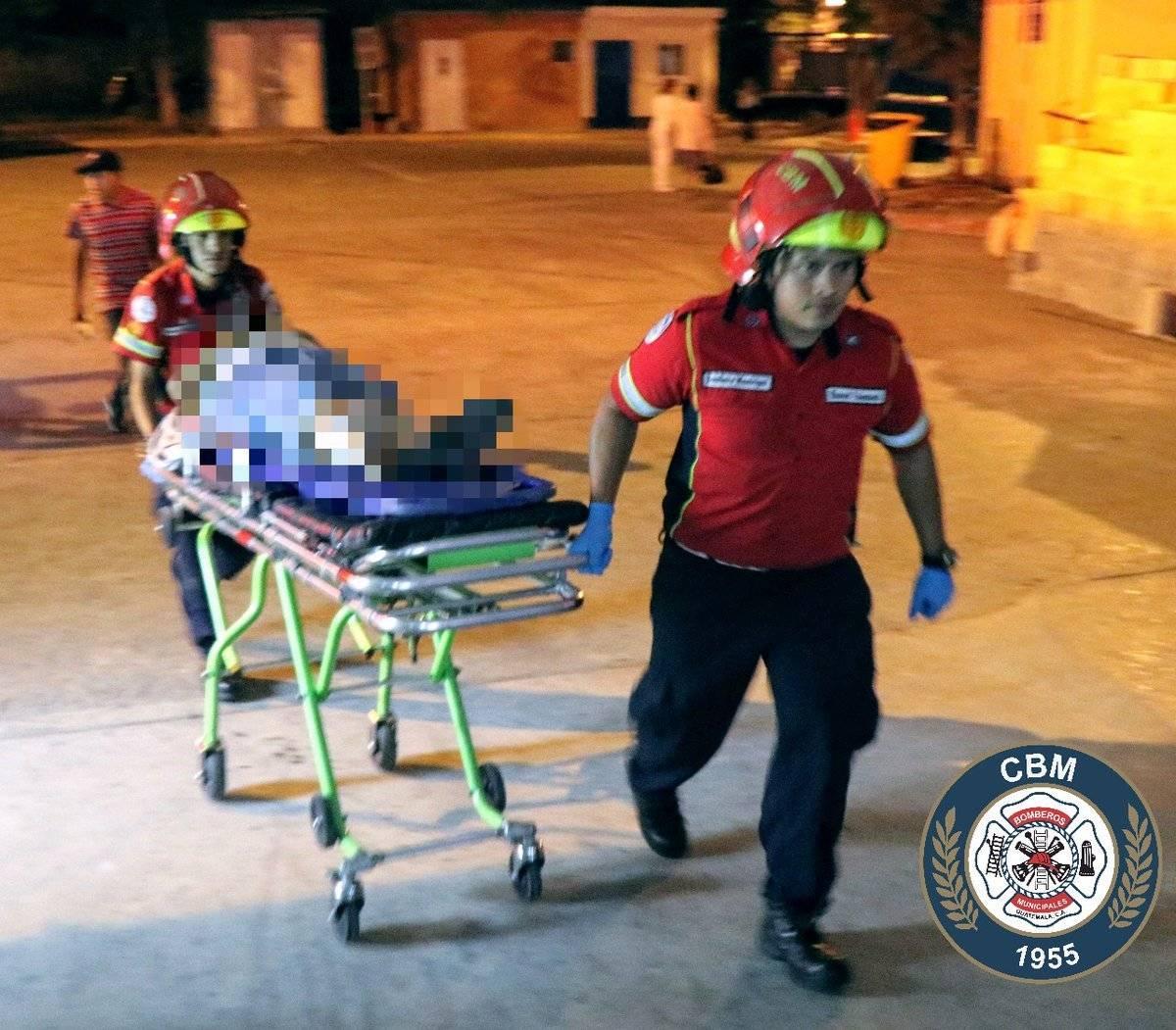 mujer herida de bala por asalto en zona 13