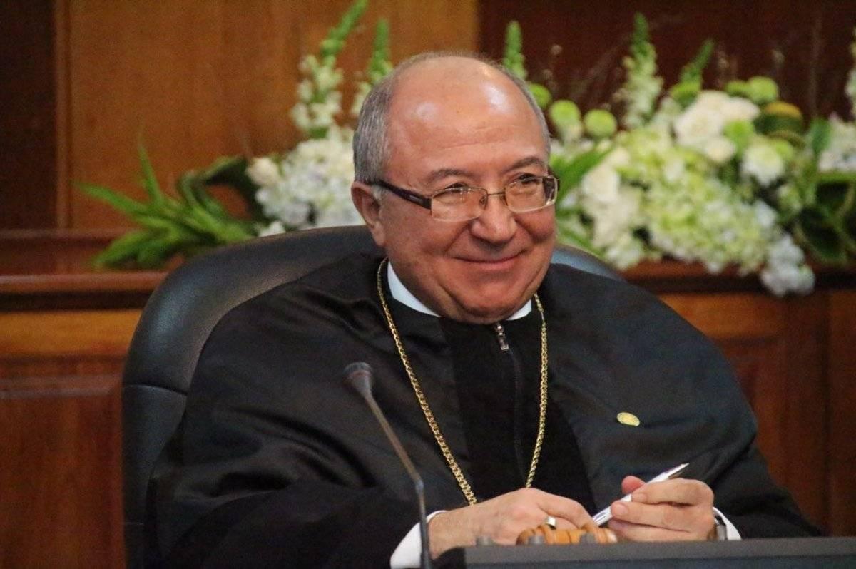 Nery Medina fue electo magistrado por los diputados al Congreso de la República. En 2017 fue presidente de la CSJ. Foto: Emisoras Unidas