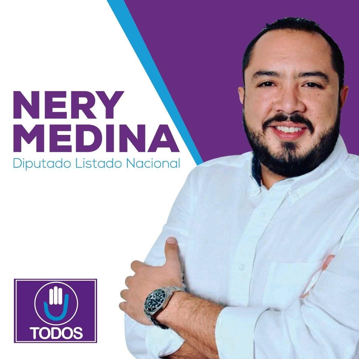 Nery Oswaldo Medina Ricco es hijo del magistrado de la CSJ Nery Medina. Foto: Facebook
