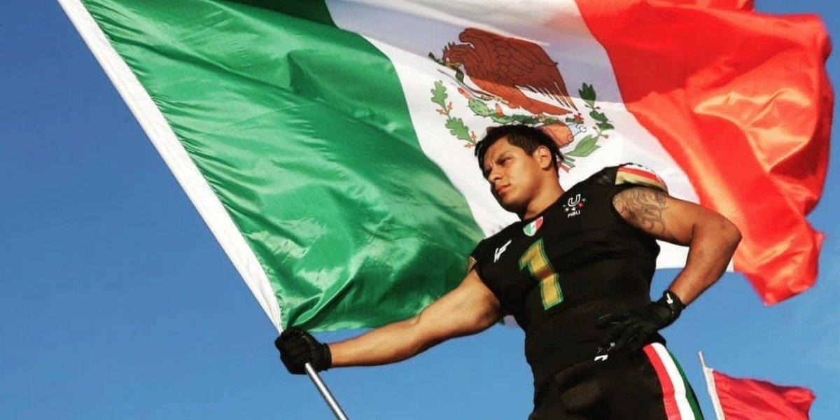 Máximo González, el mexicano que podría llegar a la NFL