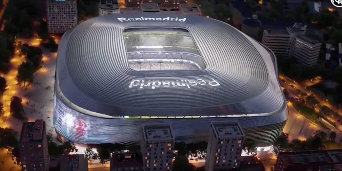 Real Madrid sorprende y muestra cómo será el 'futurista' Santiago Bernabéu