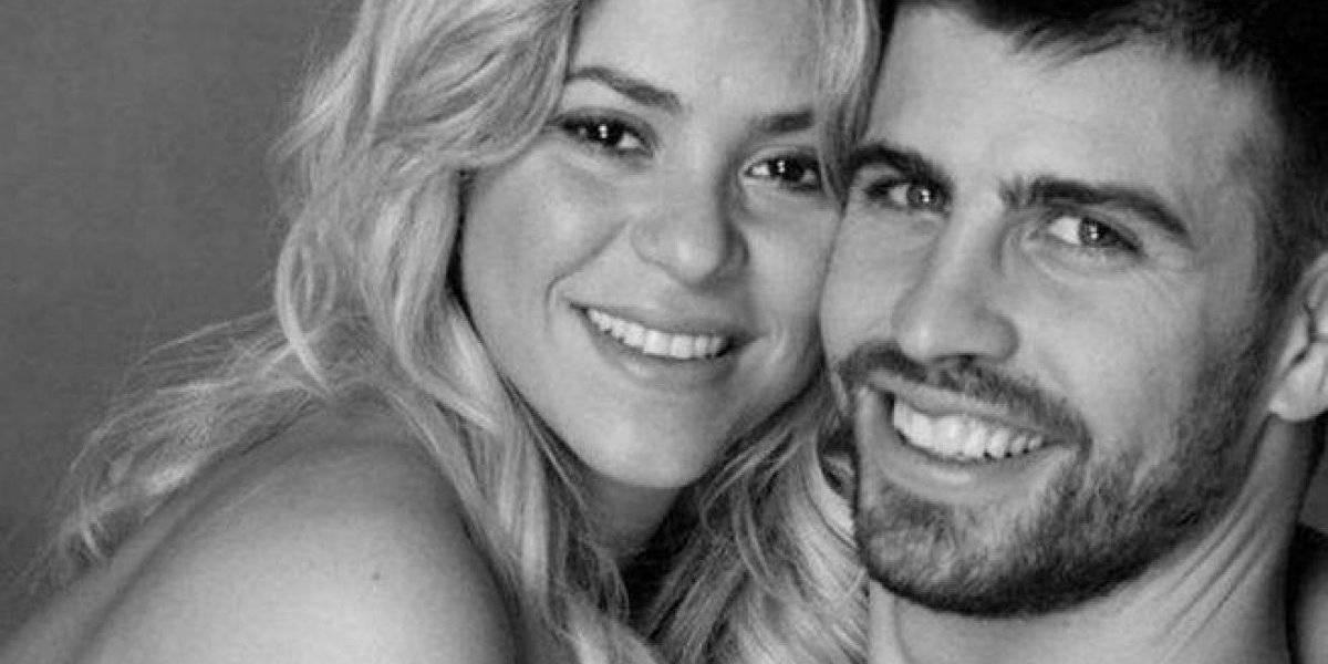 Las fotos de Shakira y Piqué festejando como se debe el triunfo de Barcelona