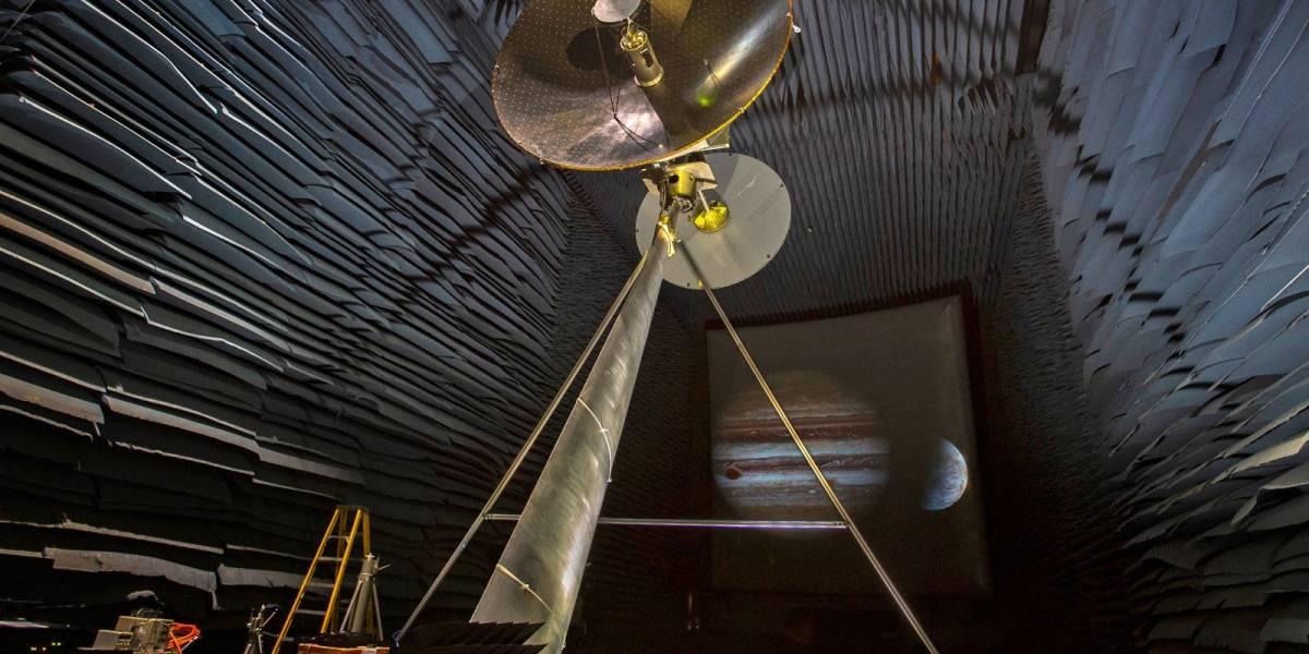 La NASA está probando una antena tipo sonda para mandar datos desde Jupiter