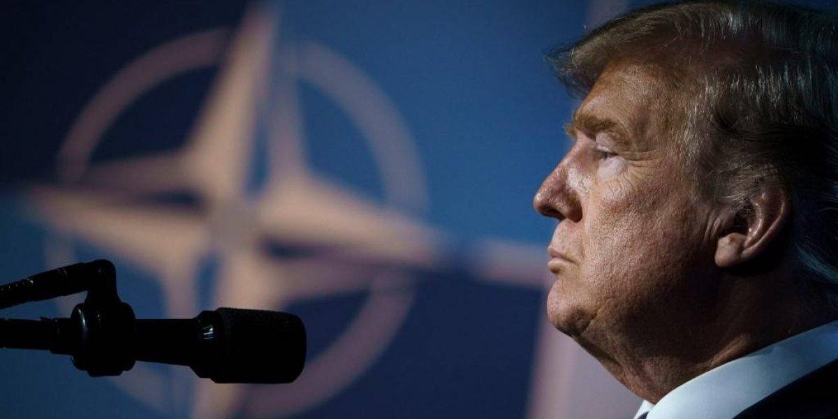 Trump encabeza festejos por aniversario de la OTAN