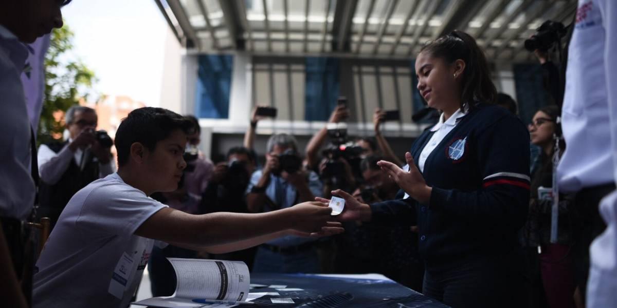 Elecciones infantiles: 250 mil niños y adolescentes están listos para votar