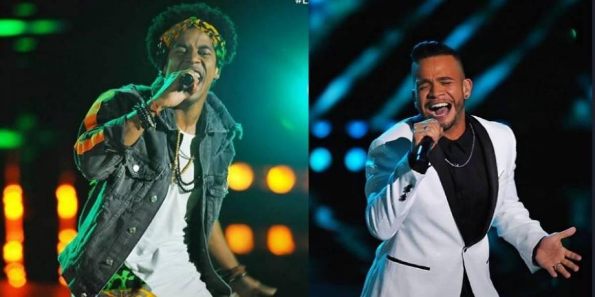 Siete boricuas sobresalen en primer 'show' en vivo de La Voz