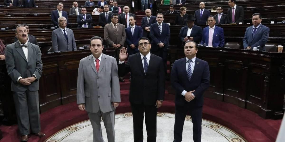 Congreso elige y juramenta al nuevo Contralor General de Cuentas