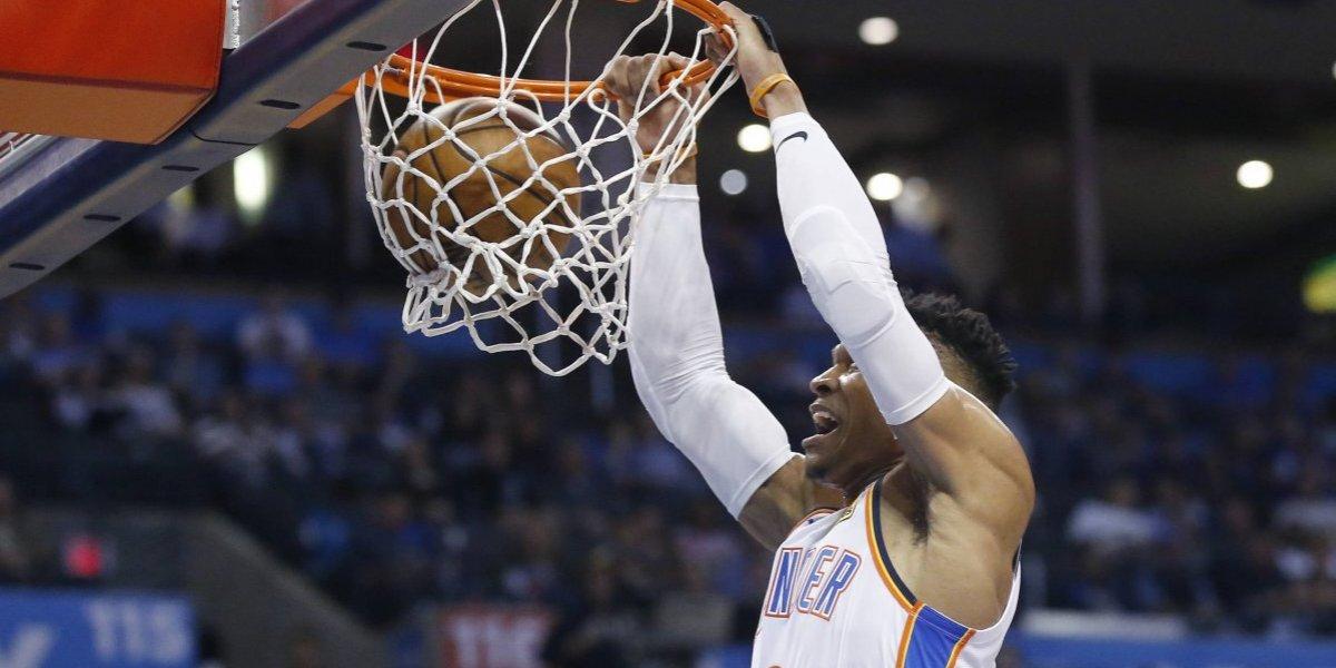 Russell Westbrook logra histórico triple-doble en triunfo del Thunder sobre Lakers