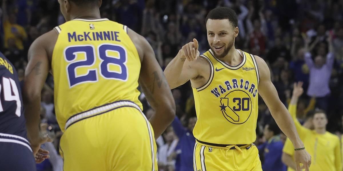Warriors vencen a los Nuggets y dejan claro que son los reyes del Oeste
