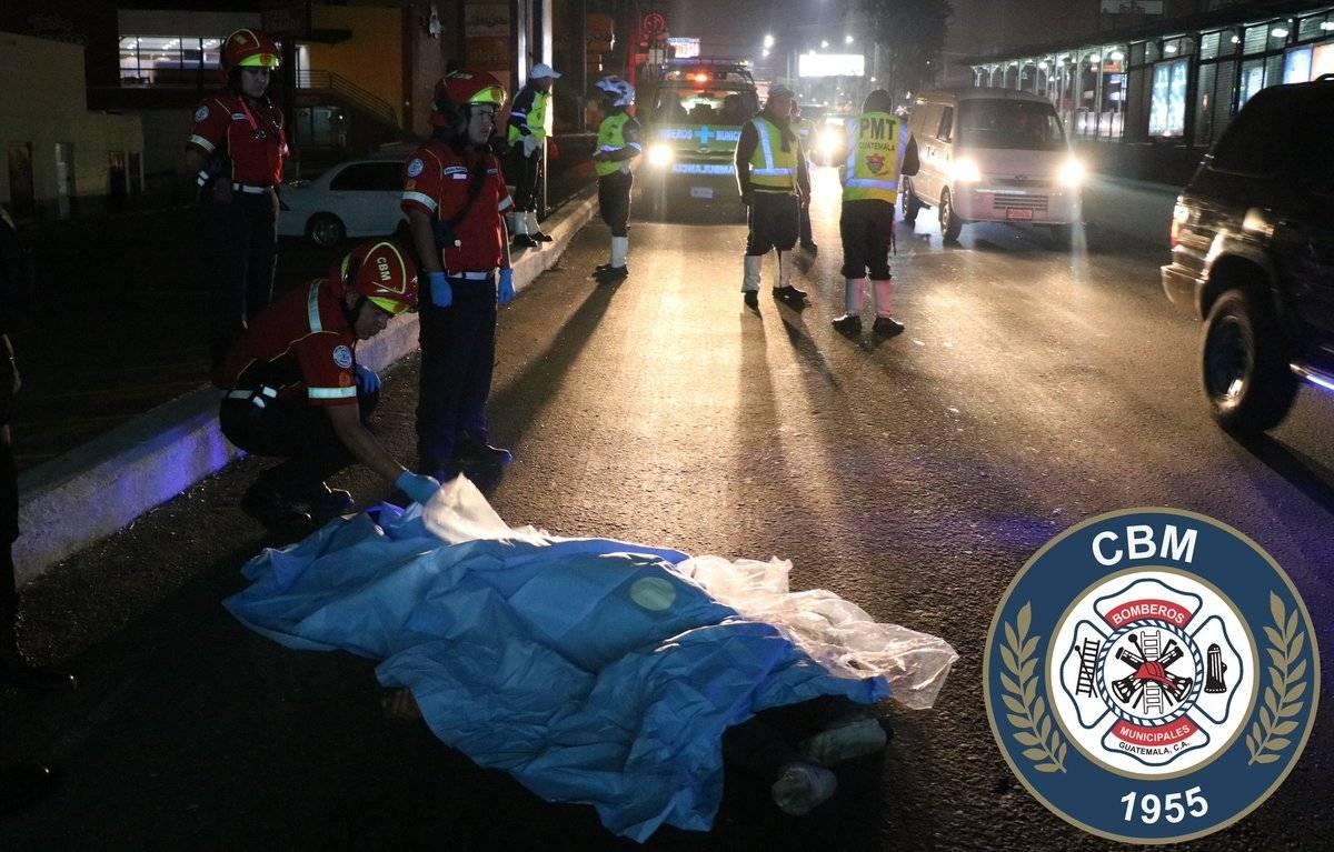 Hombre muere atropellado en calzada Aguilar Batres
