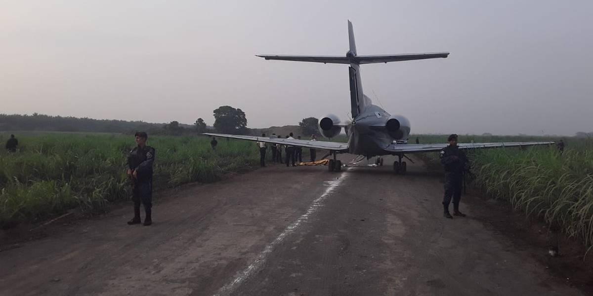 Localizan aeronaves abandonadas en Retalhuleu y Escuintla