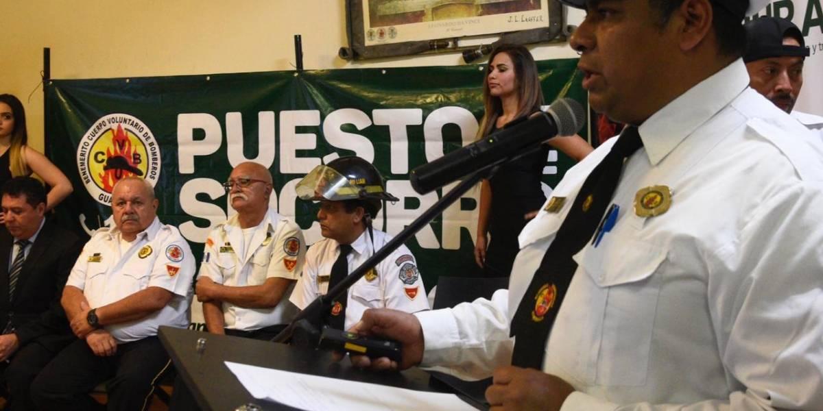 Más de 4 mil bomberos voluntarios prestarán servicio en Semana Santa