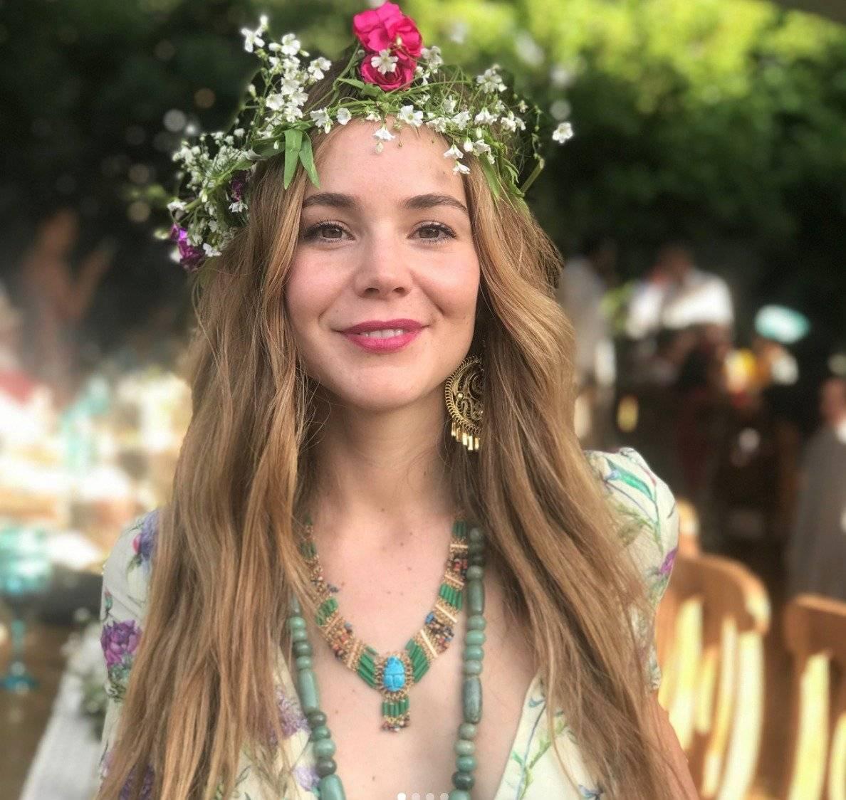 """La actriz interpreta a """"Erika"""" en """"Luis Miguel, la serie"""" Instagram"""
