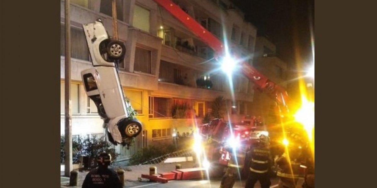 Lo que no se sabía del tremendo accidente de una camioneta en Circunvalar, en Bogotá