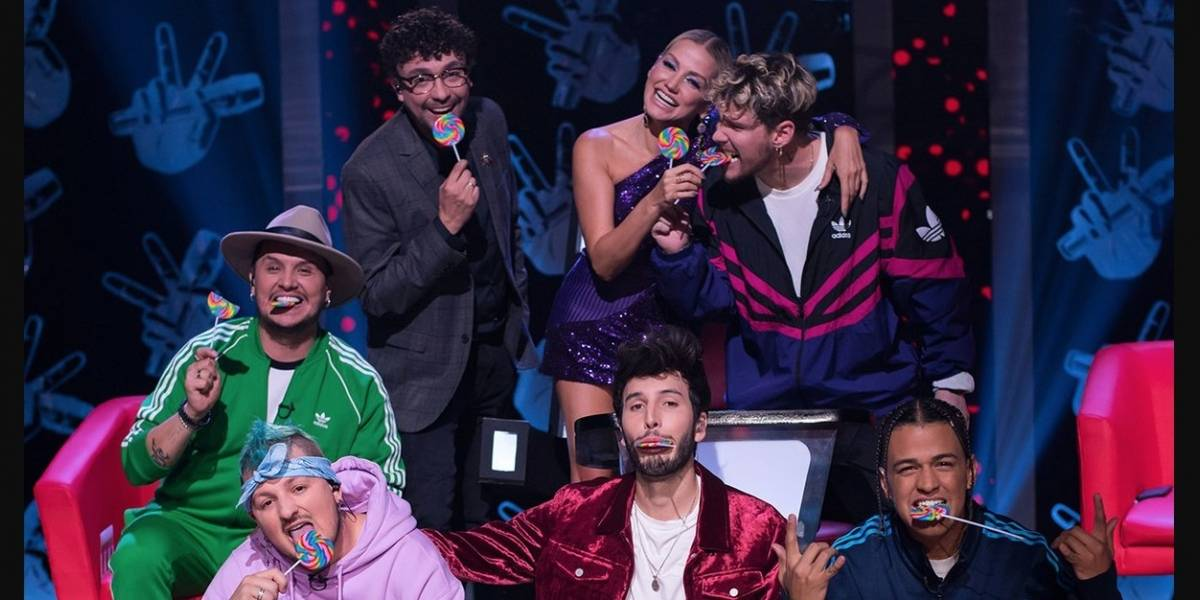 Guapo cantante visitó 'La voz kids' y enamoró a las televidentes