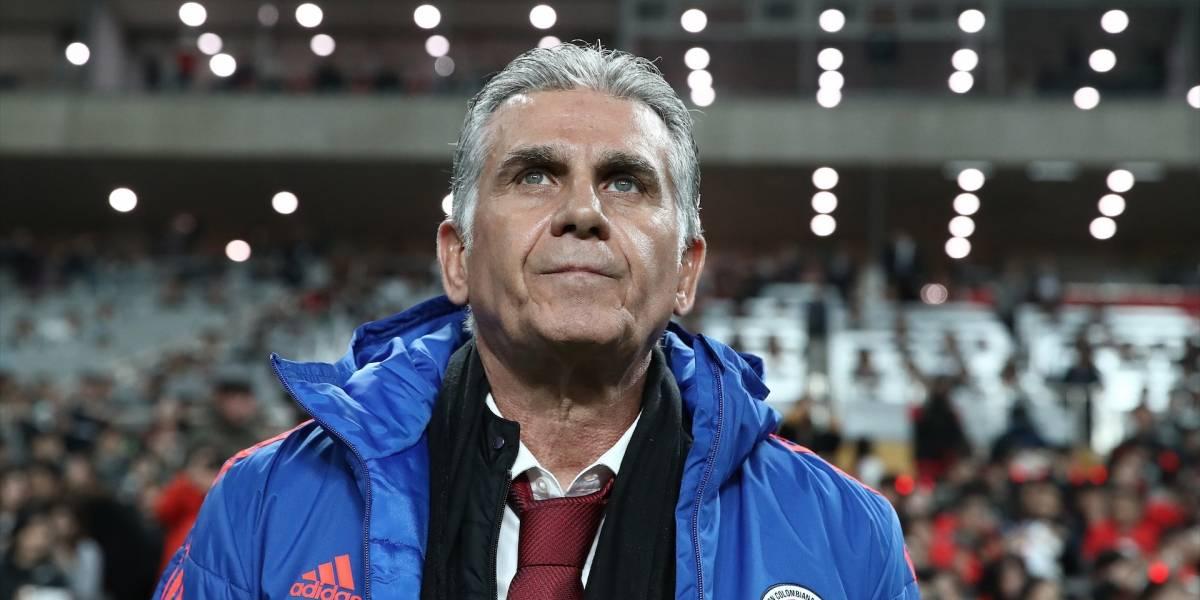 El jugador de Colombia que le 'sacó la piedra' a Queiroz, ante Perú