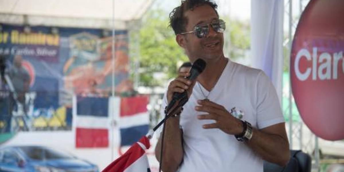 Carlos Silver, interno en la clínica Cruz Jiminián por chequeos rutinarios