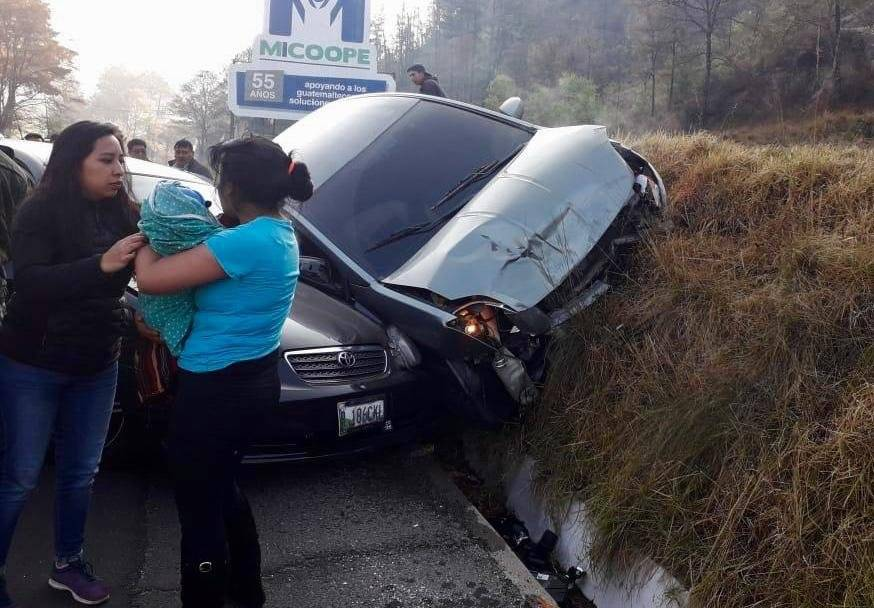 Accidente en Totonicapán