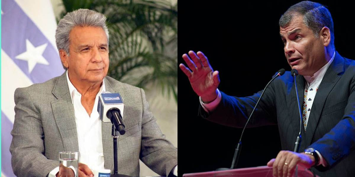 La respuesta de Rafael Correa al presidente Lenín Moreno