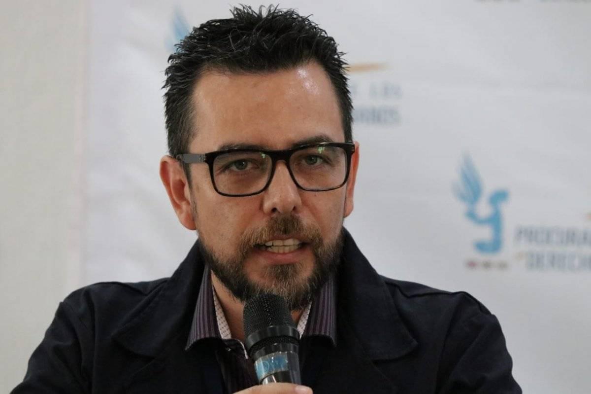 Eduardo Woltke, defensor migrantes PDH
