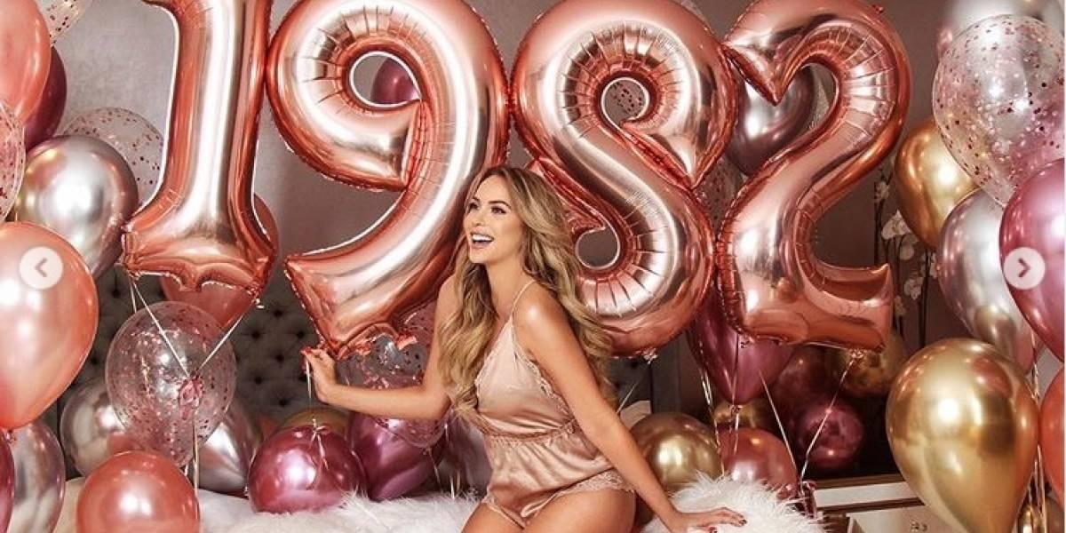 Erika Vélez: Así festejó su cumpleaños 37