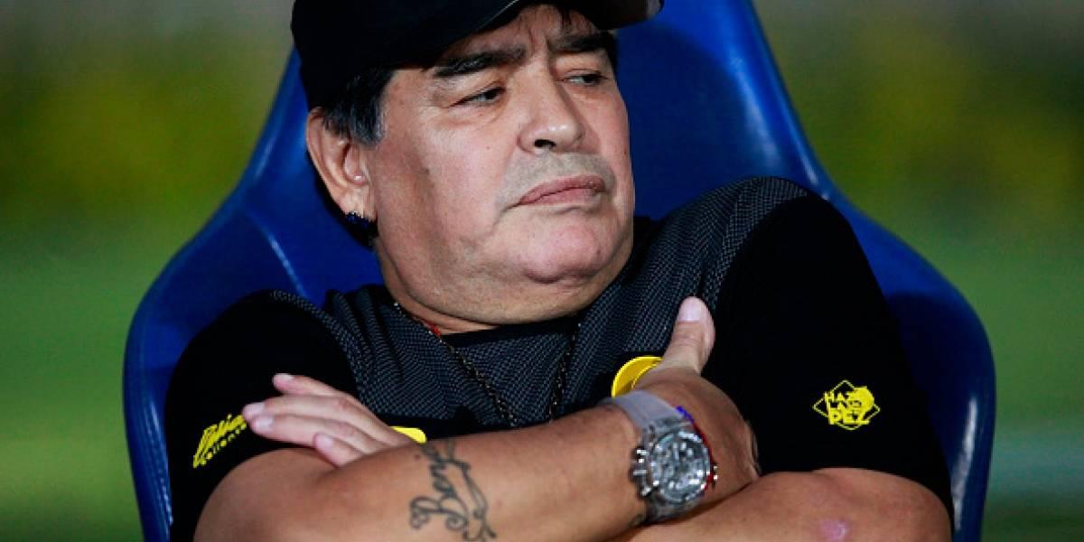 Diego Armando Maradona será investigado por declaraciones a favor de Nicolás Maduro y contra Donald Trump